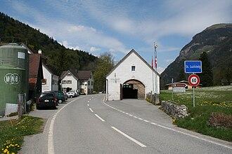 Luzisteig Passhöhe