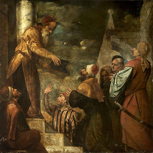 File:Lycurgus Giving Law to the People, Jacopo Palma or Bonifazio de' Pitati.jpg