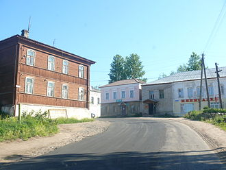 Bologovsky District - The settlement of Lykoshino