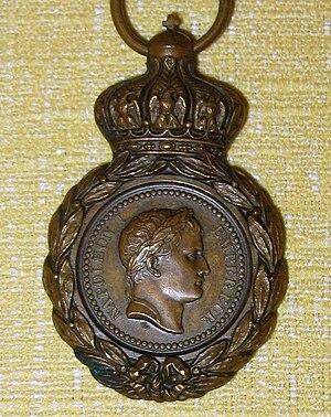 Albert Désiré Barre - Médaille de Sainte-Hélène designed by Barre