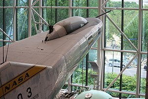 Northrop M2-F3 - Image: M2F3museum