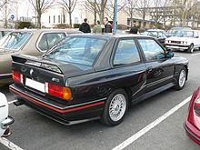 BMW M3 E30 >> BMW M3 — Wikipédia
