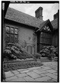 MAIN ENTRANCE, WEST SIDE, FROM NORTHWEST - Stan Hywet Hall, 714 North Portage Path, Akron, Summit County, OH HABS OHIO,77-AKRO,5-21.tif