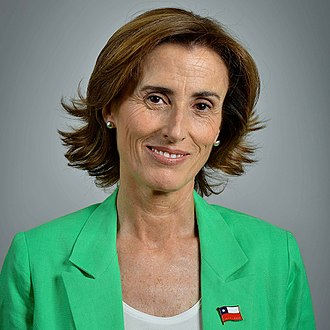Ministry of Education (Chile) - Marcela Cubillos, the current Minister of Education.