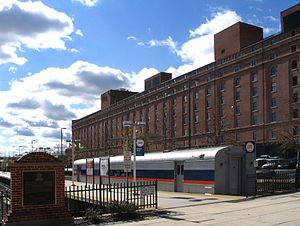 Camden Station - Image: MARC combination baggage car at Camden Station, October 2005