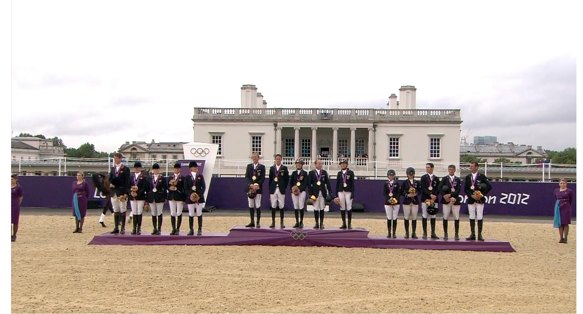 Equestrian At The 2012 Summer Olympics Team Eventing