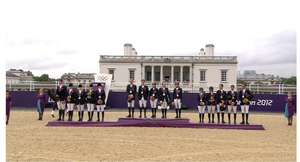 Equestrian at the 2012 Summer Olympics – Team eventing - Medalists for the team Eventing competition