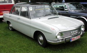 Um DKW F102.