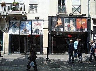 Rue Rambuteau - Image: MK2 Beaubourg
