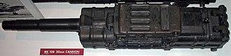 MK 108 cannon - Side view, MK 108