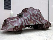 Kubuś, a replica of a Polish WWII armored vehicle made by the Home Army