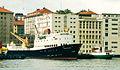 MS Nordfjord I MS Haganes Fylkesbaatane Bergen Vågen (000000).jpg
