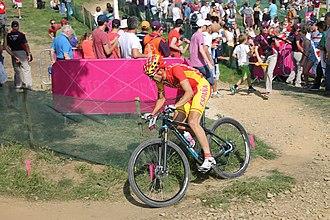 Spain at the 2012 Summer Olympics - Sergio Mantecón Gutiérrez in men's cross-country race