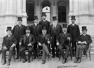 Liberal Government of New Zealand - The MacKenzie Ministry, 1912.