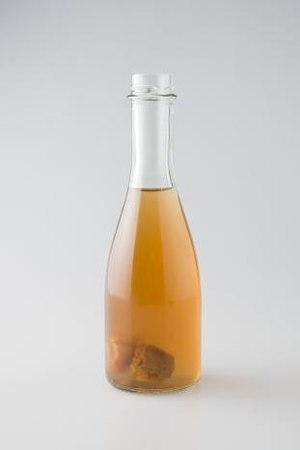 Fruit wine - A bottle of maesil-ju (plum wine)