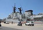 Maestrale class frigate Euro (F 575) - Harbour of Reggio Calabria - Italy - 8 July 2018 - (34).jpg