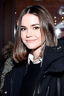 Maia Mitchell at Sundance 2018.jpg