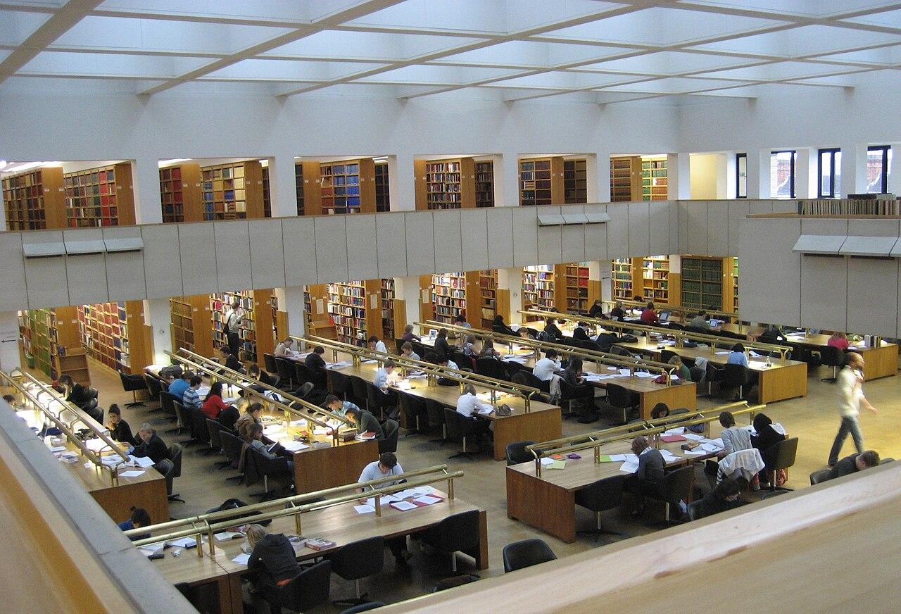 Bodleian Reading Room Designed By C Wren