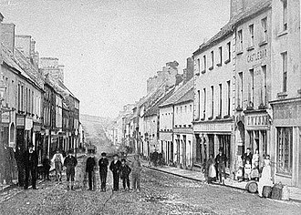 Castlebar - Picture of castlebar many years ago