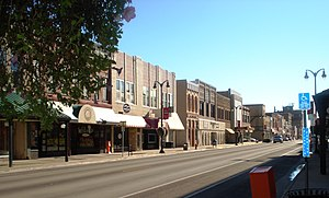 Marshalltown, Iowa - Main Street Marshalltown