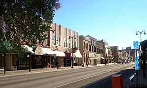 Marshalltown, Iowa - Main Street Marshalltown