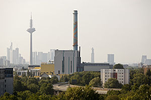 Mainova - Müllheizkraftwerk Nordweststadt - Frankfurt am Main