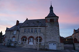 The town hall of Pierrepont