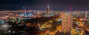 South Sulawesi - Image: Makassar CBD Skyline