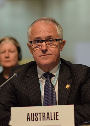 Malcolm Turnbull - Turnbull at the 2014 International Telecommunication Union plenipotentiary conference in South Korea.