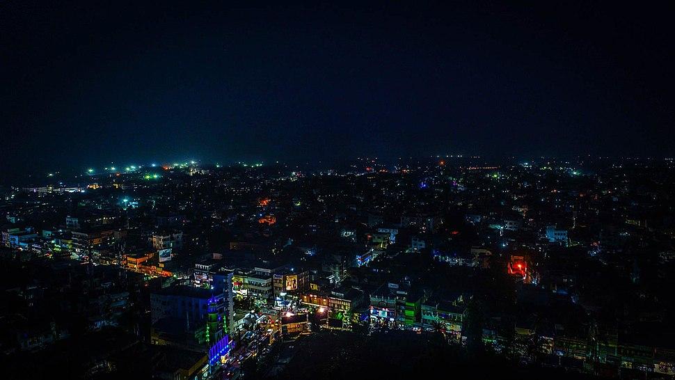 Malda Skyline Night