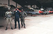 Malian army troops guarding MiG-21s (1997)