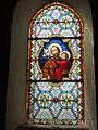Mametz (Pas-de-Calais, Fr), église de Crecques, vitrail 09.JPG
