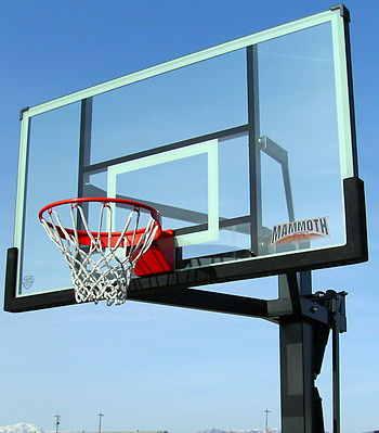 Mammoth Basketball hoop, basketball, Lifetime ...