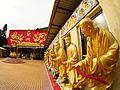 Man Fat Tsz (Ten Thousand Buddhas Monastery) , Man Fat Din and Arhan statues, Sha Tin (Hong Kong).jpg