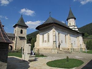 Bistrița Monastery - Church of the Bistrița Monastery