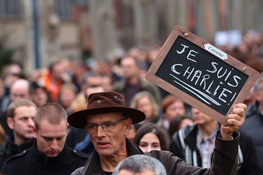 Manifestation Charlie Hebdo Toulouse, 10 janvier 2015 (4)