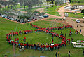 Manifestations of the international day against AIDS in Brasilia.JPG