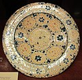 Manises, piatto con lustro metallico, 1400-60 ca. 03.JPG