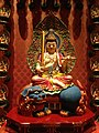 Manjushri at Buddha Tooth Relic Temple and Museum.JPG