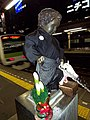 Manneken Pis in Tokyo (New Year's Outfit) - panoramio.jpg