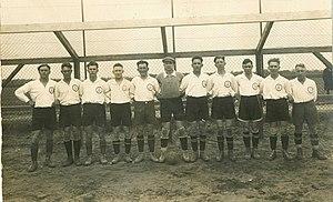 Mannschaftsfoto SC Germania Reusrath 1928