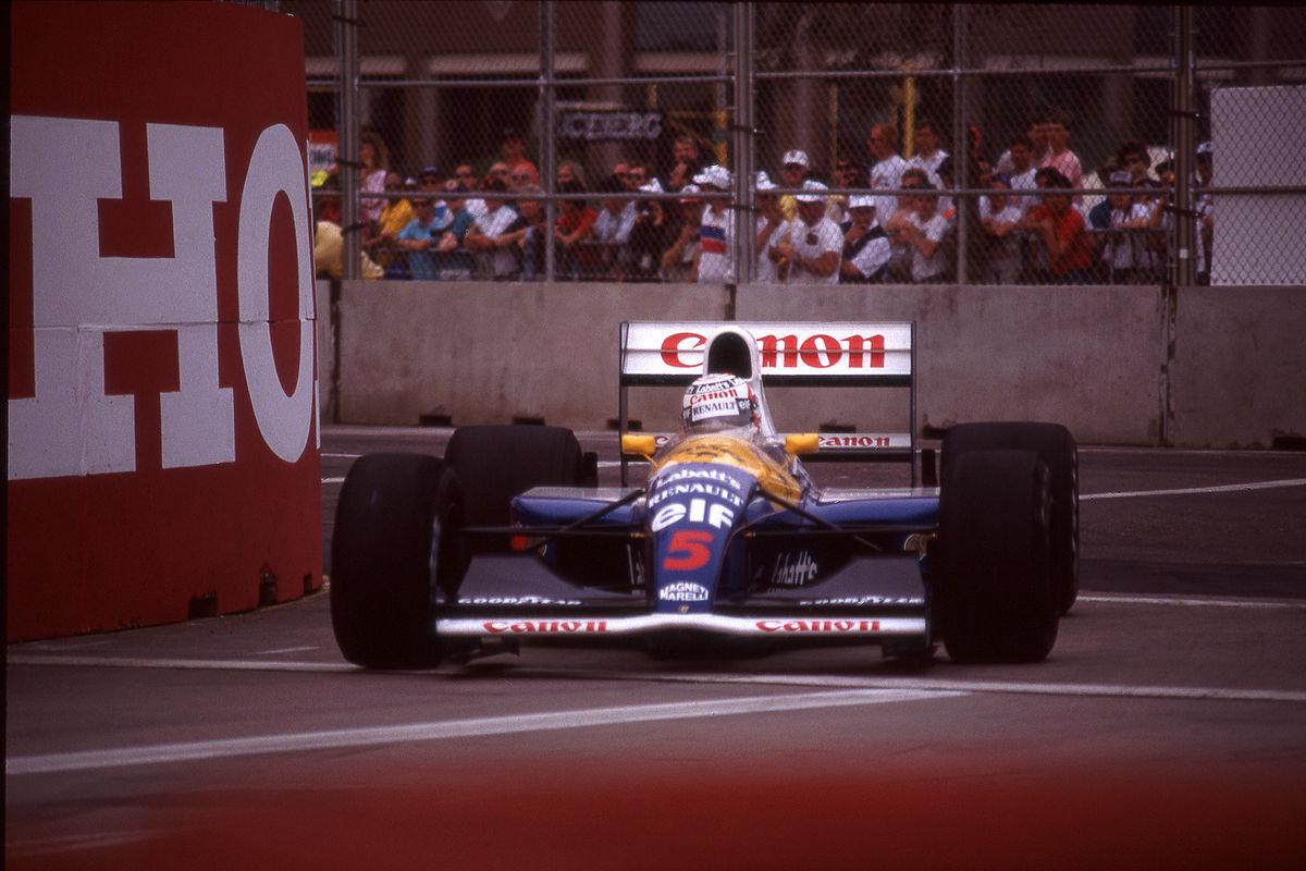 Grand prix formule 1 van spanje 1991 wikipedia for Prix chambre formule 1