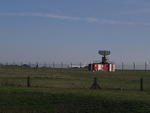 Manston Airport - View across part of the airport