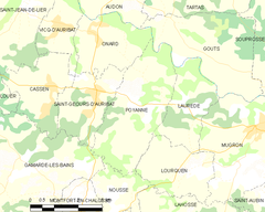 Map commune FR insee code 40235.png