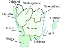 götaland karta Götaland – Wikipedia götaland karta