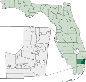 Map of Florida highlighting Sea Ranch Lakes.png