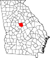 Map of Georgia highlighting Jones County.svg