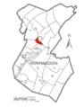 Map of Huntingdon County, Pennsylvania Highlighting Smithfield Township.PNG