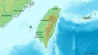 現代台灣地圖