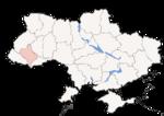 Oblast di Ivano-Frankivsk - Mappa di localizzazione